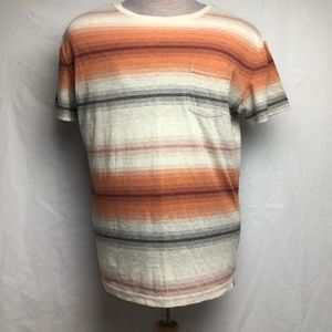 American Eagle Seriously Soft Striped T-Shirt (L)